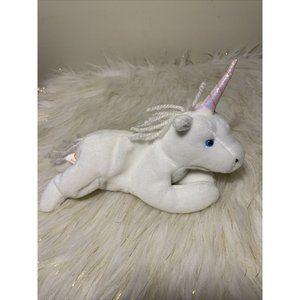 Ty Beanie Baby, Mystic Unicorn COURSE YARN Style 4